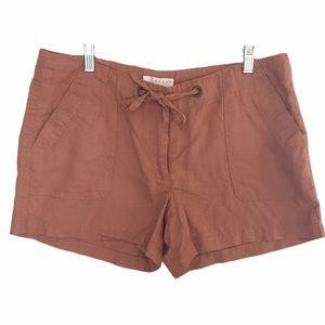 Kenar Dusty Rose Linen Cotton Short Sz.12